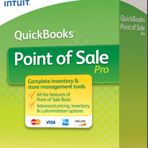 Intuit QuickBooks Point of Sale Pro V19 - Contact us for current promotion