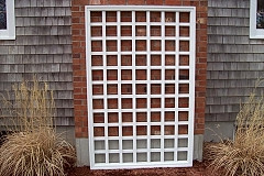 "Cellular Vinyl Trellis 5"" Square"