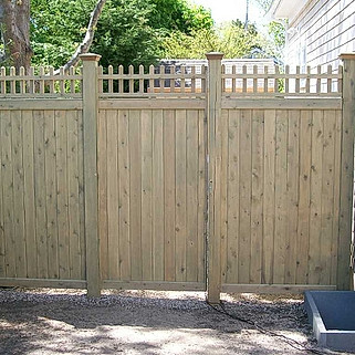 Colonial Accent Top Gate