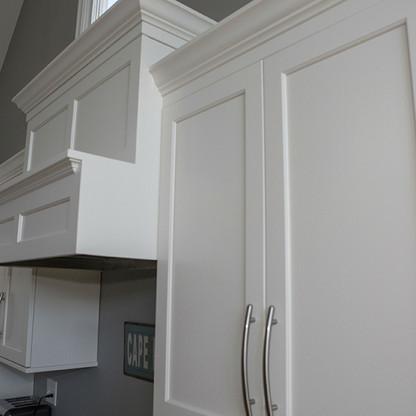Upper Cabinets And Range Hood
