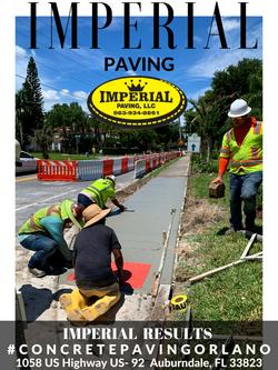 Concrete Paving Orlando