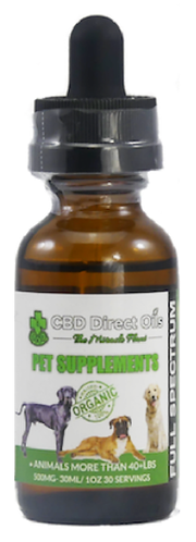 CBD Oil for Pets Over 40lbs