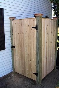 Board Shower Enclosure