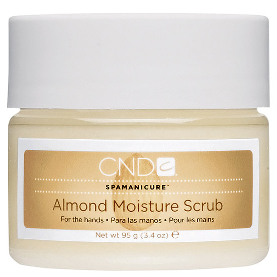 CND Almond Moisture Scrub for the hands