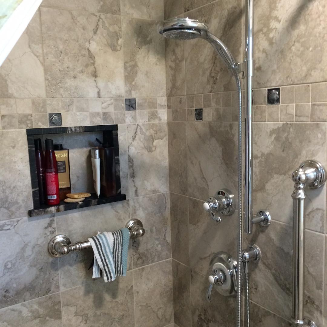 Granite Shower Installation