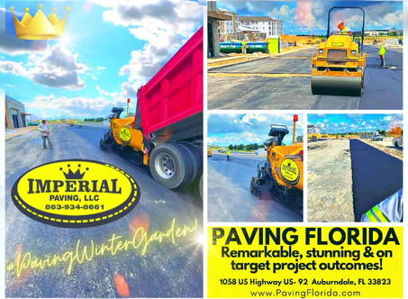 We bring the very best possible paving Florida has to offer.