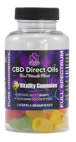 Vitality CBD Gummies-600mg