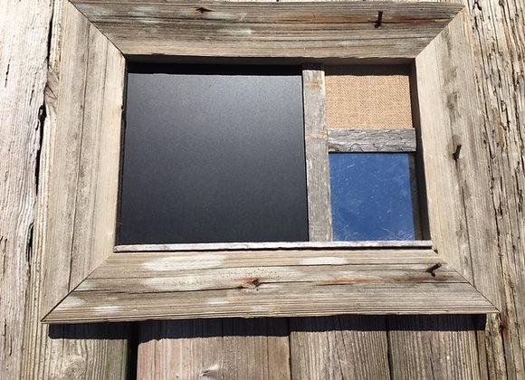 3 Section Memo Board