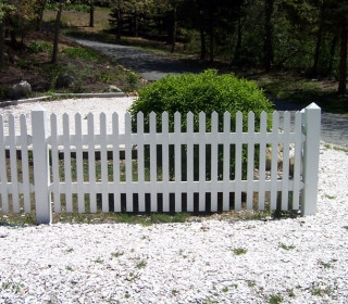 Cape Cod Picket With Wayside Top Posts