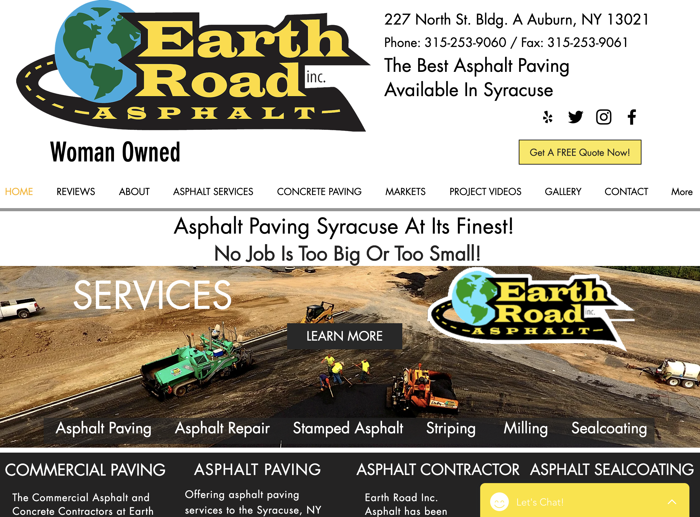 Earth Road Asphalt