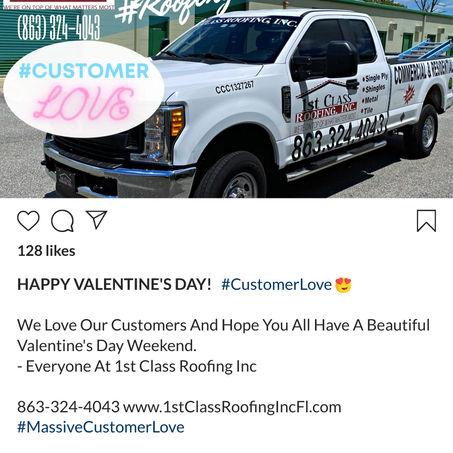 #CustomerLove