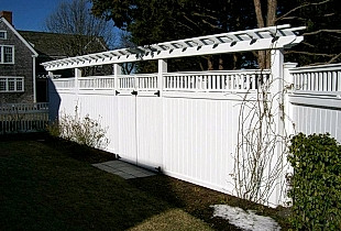 Pergola Top Over Colonial Accent Top Board