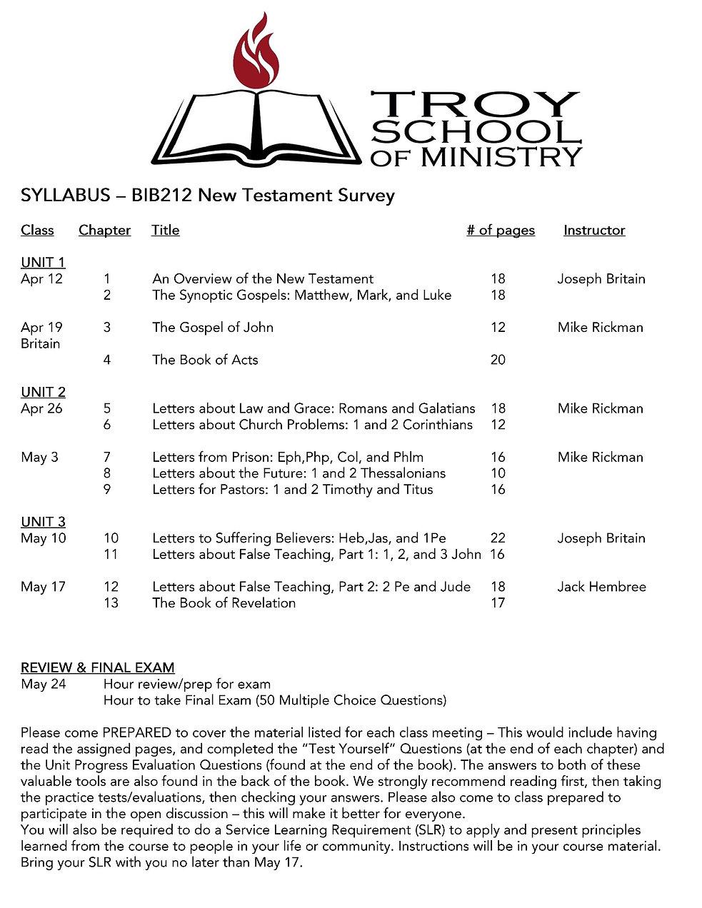 BIB212 - New Testament Survey Syllabus.j