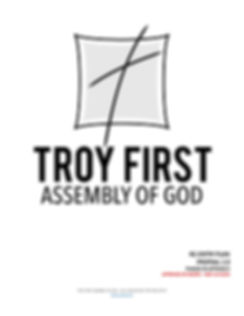 Troy First Assembly of God  RE-ENTRY PLA