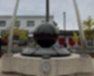 Insertion d'acier inoxydable, monument pour le centenaire du Royal 22eRégiment