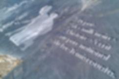 Gravure au jet de sable, parc national du Lac-Témiscouata