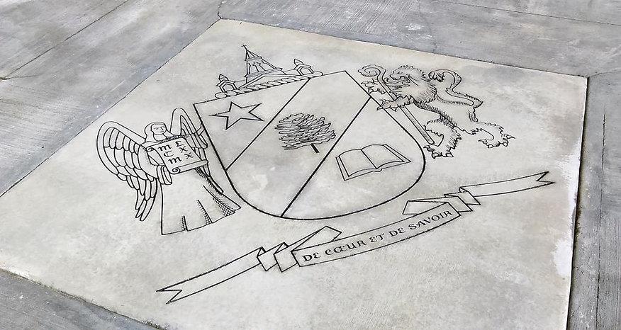 Gravure au jet de sable, Cégep de Saint-Jérôme