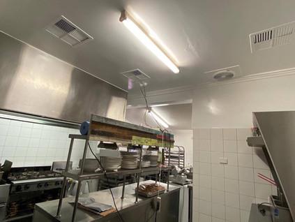 Commercial kitchen repaint
