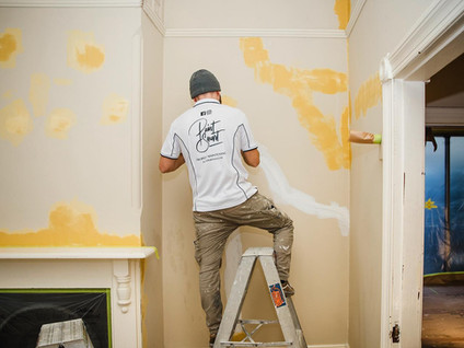 Residential property repaint