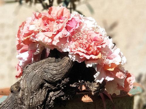 BIG Pinky Flower Crown
