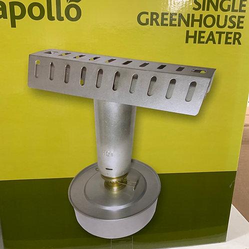 Single greenhouse heater