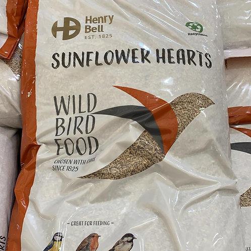 Sunflower Hearts 12.55kg