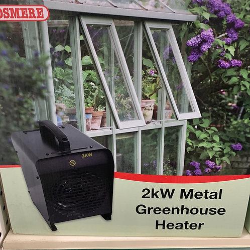 2kW metal greenhouse heater