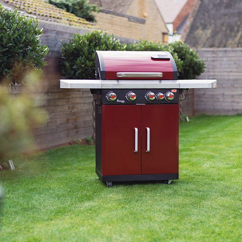 Rexon PTS 4.1 Gas Barbecue – Red