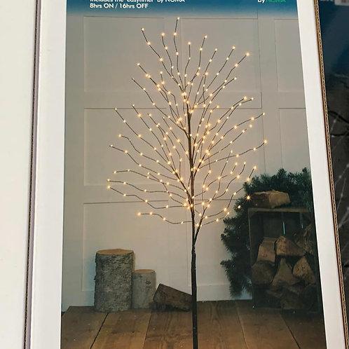 1.5m Windswept Copper Wire Tree