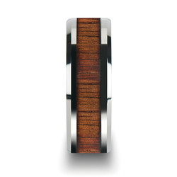 koa wood ring front