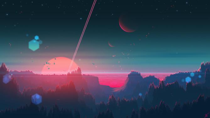 Under the strange horizon