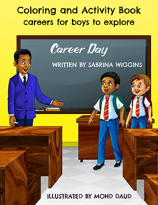 Career Day Coloring and Activity Book
