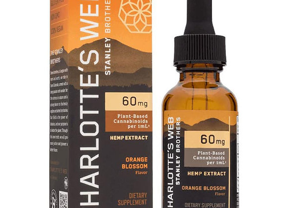 Charlotte's Web 60MG 30mL Orange Blossom Tincture