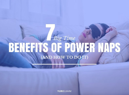 7 Big Time Benefits of Power Naps (And How to Do It)