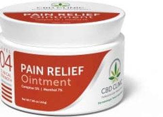 CBD Clinic Level 4 Pain Relief Cream 44gm jar