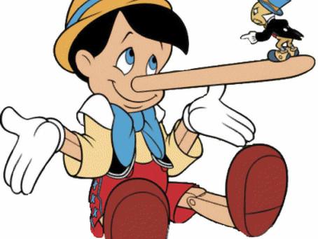 Las primeras mentiras de los niños
