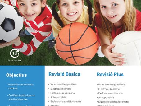 La revisión médica deportiva