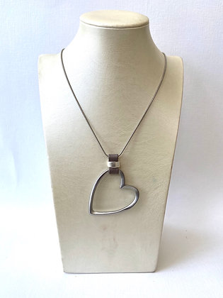 Large Pewter Heart