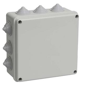 Коробка распределительная 100х100x35 мм IP54 12 вводов