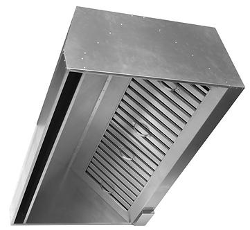 Вентиляционный приточно-вытяжной зонт (пристенный) ВЗП 1000х700х400х350