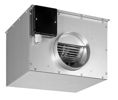 Вентилятор для круглых каналов SHUFT в частично изолированном корпусе PCFE 160