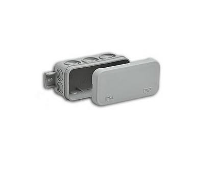 Коробка распределительная 80х43x35 мм IP54 10 вводов
