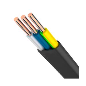 Силовой кабель ВВГп (плоский) 3х1,5 (цена за метр погонный)