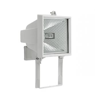Прожектор симметричный с ГЛН лампой, ИО-500W, белый IP54