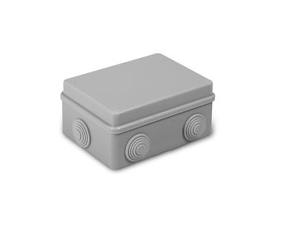 Коробка распределительная 120х80x50 мм IP54 6 вводов