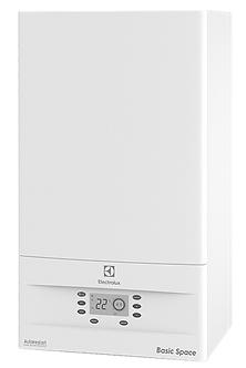 Двухконтурный, настенный газовый, котел отопления Electrolux Basic Space 11 кВт