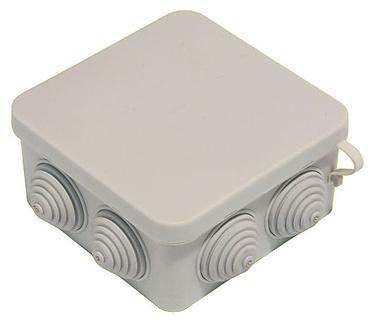 Коробка распределительная 100х100x50 мм IP54 8 вводов