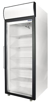 Холодильный шкаф cо стеклянными дверьми Polair DM105-S