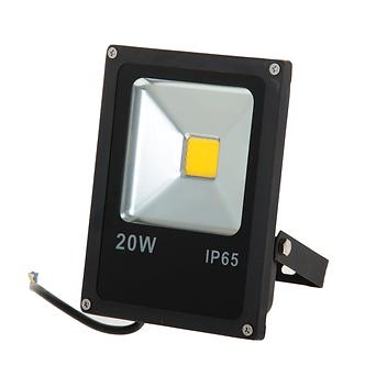 Прожектор светодиодный LED1-20W, 6400К 1400Лм, черный IP65
