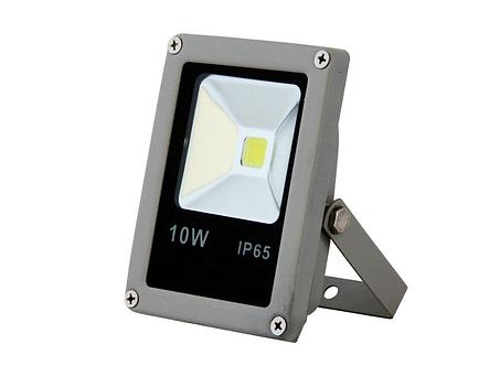 Прожектор светодиодный LED1-10W, 6400К 700Лм, серый IP65
